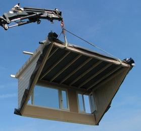 Prefab dakkapel bouwpakket