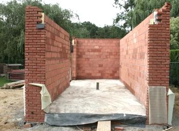 Stenen voor huis bouwen
