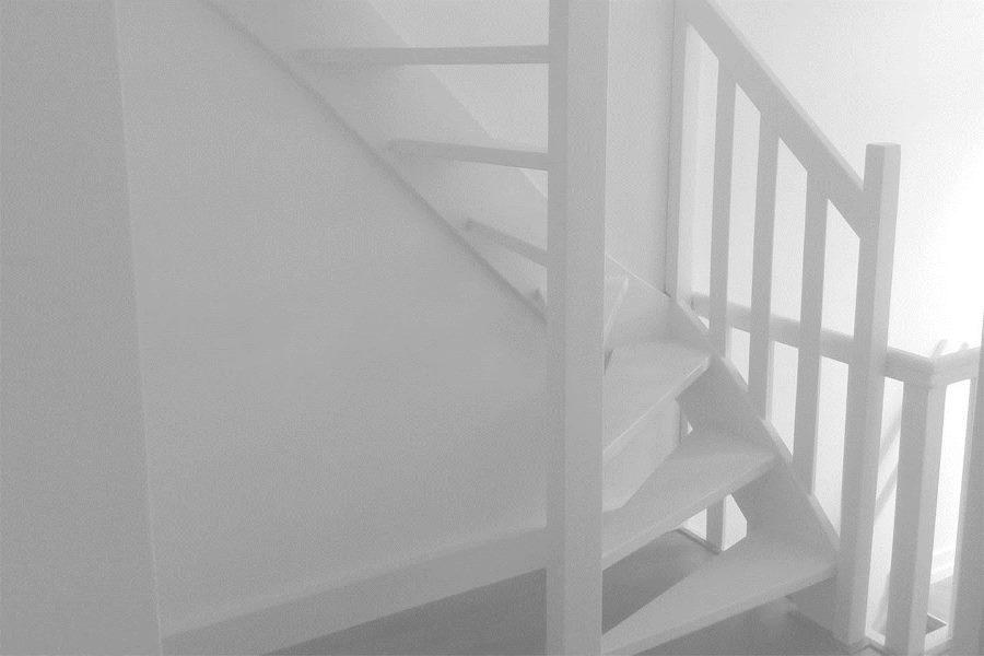 Toegang trap naar punta negra strand dénia