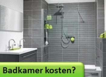 Nieuwe Badkamer Kopen : Wat kost een badkamer? verbouwkosten