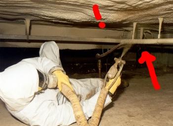 Betonnen vloer isoleren onderkant