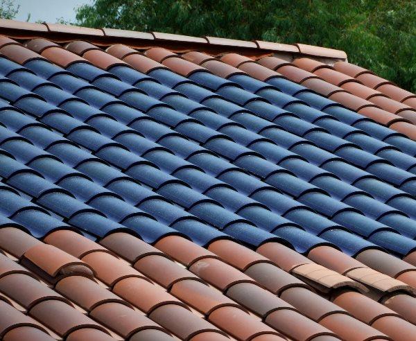 Zonnepanelen in dakpannen - Zonnepaneeldakpan