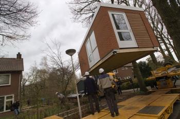 Mantelzorgwoning in tuin verbouwkosten for Huis in tuin voor ouders