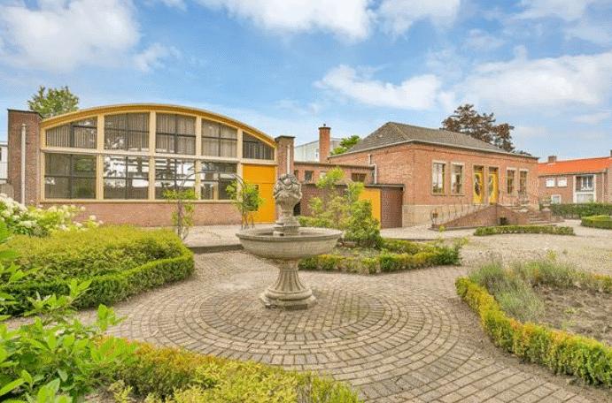 Verbouwing school l informatie over de ombouw en renovatie for Tuin verbouwen