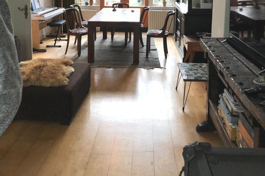beste verf voor kliklaminaat vloer te schilderen