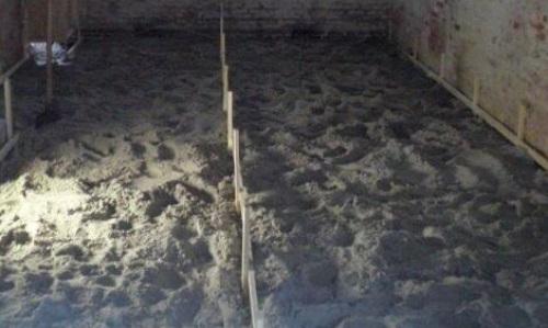 Houten vloer vervangen door een betonvloer - Verbouwkosten