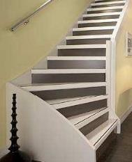 Houten trap kosten soorten plaatsen en voorbeeld - Renovatie van een houten trap ...