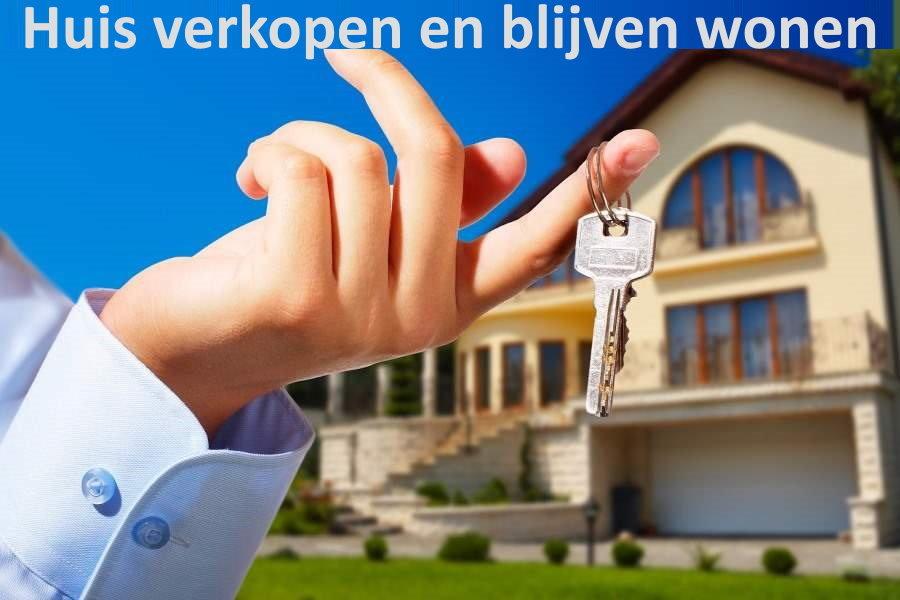 huis verkopen en er gratis blijven wonen