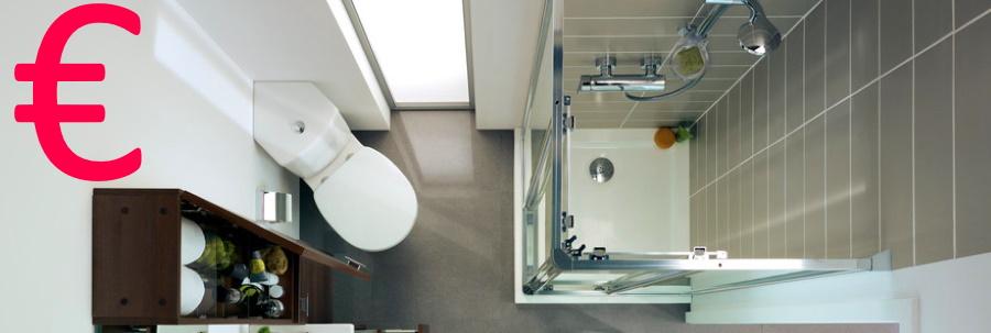 Verbazingwekkend Een kleine badkamer verbouwen 2020 Verbouwkosten GZ-29