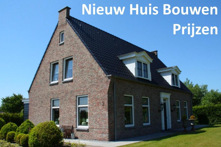huis bouwen prijzen