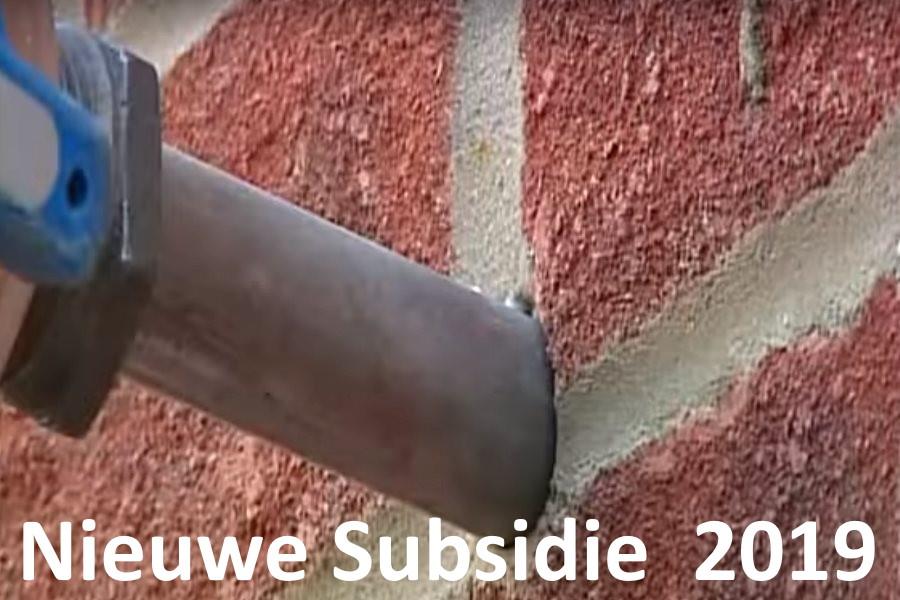 Nieuwe subsidie energiebesparende maatregelen 2020