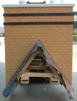 Prefab schoorsteen l prijs en vergelijk met een gemetselde soort - Steen en constructie ...