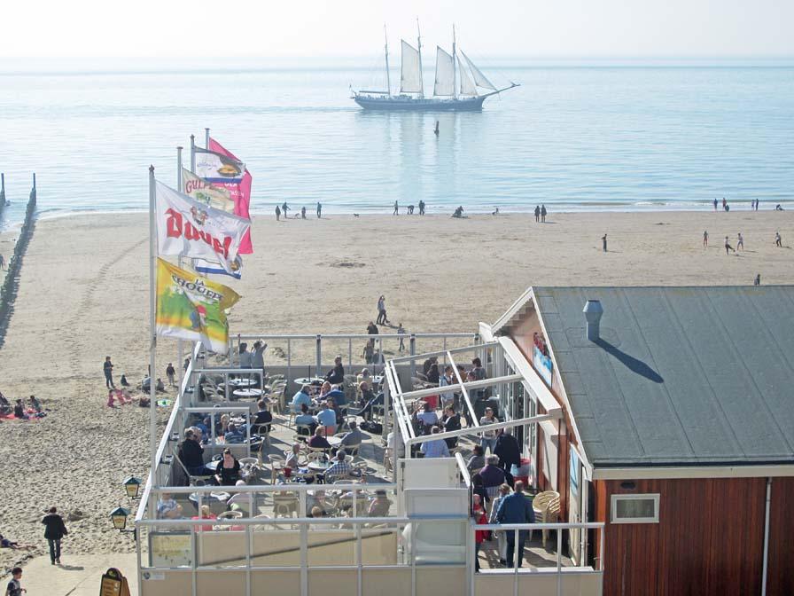vakantiehuisje zeeland aan het strand