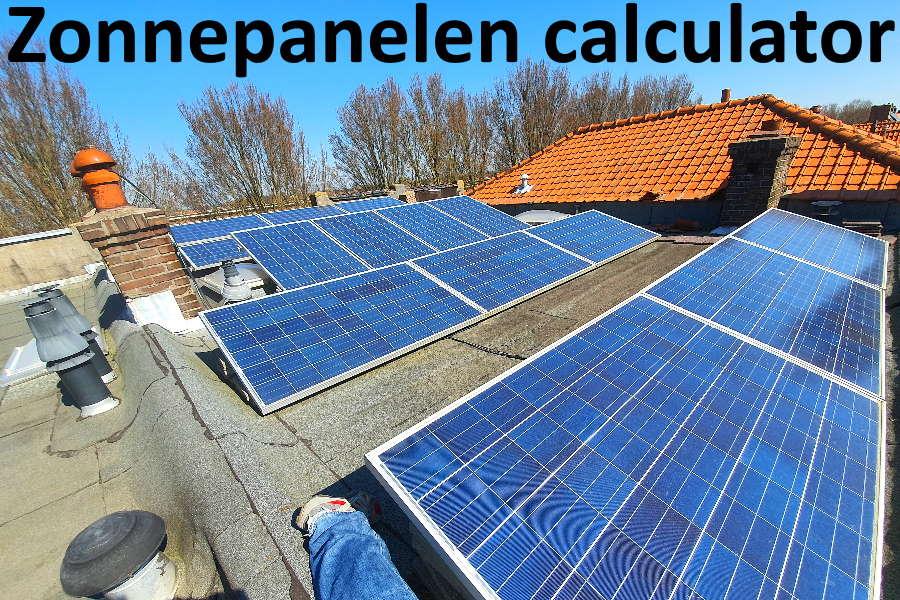 zonnepanelen calculator