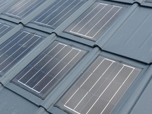 Zonnepanelen dakpannen merken